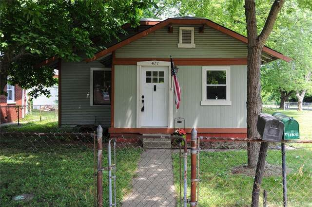 477 S Webster Avenue, Indianapolis, IN 46219 (MLS #21723799) :: The Indy Property Source