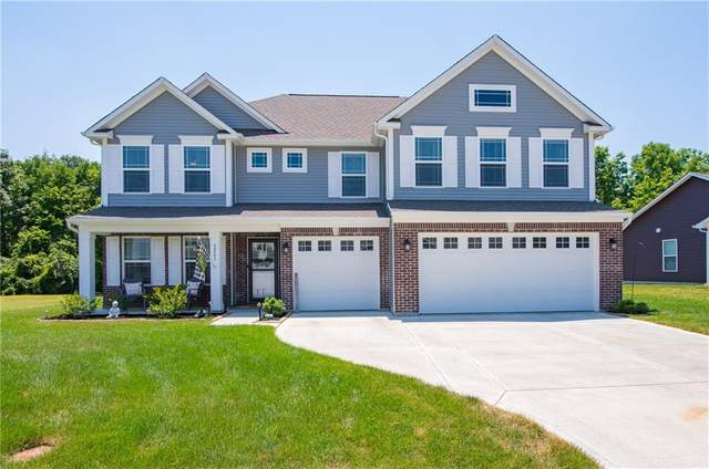 9261 Foudray Circle N, Avon, IN 46123 (MLS #21723909) :: Mike Price Realty Team - RE/MAX Centerstone