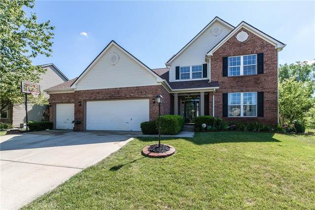 11109 Crystal Falls Lane, Fishers, IN 46037 (MLS #21723933) :: Dean Wagner Realtors