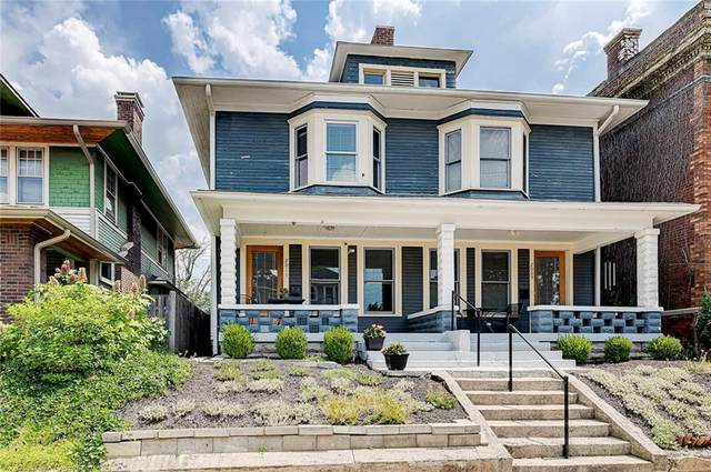 2009/2011 N Talbott Street, Indianapolis, IN 46202 (MLS #21724023) :: The Evelo Team