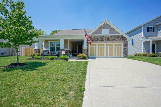 4016 Poplar Drive, Whitestown, IN 46075 (MLS #21724044) :: Anthony Robinson & AMR Real Estate Group LLC