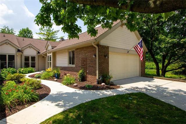 5334 Thicket Hill Lane, Indianapolis, IN 46226 (MLS #21724099) :: AR/haus Group Realty