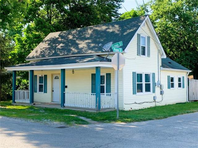 201 W Green Street, Greencastle, IN 46135 (MLS #21724124) :: Mike Price Realty Team - RE/MAX Centerstone