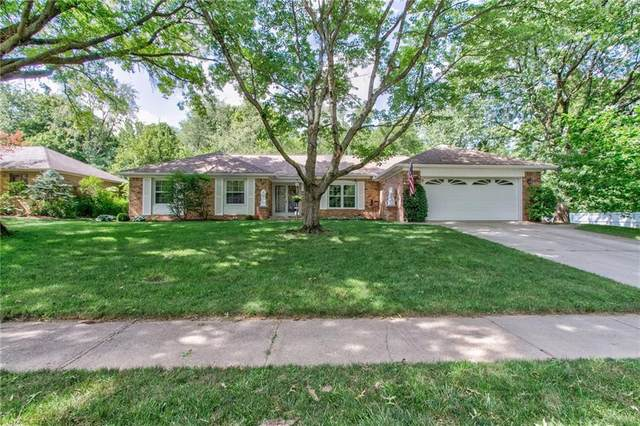 8314 Chapel Glen Drive, Indianapolis, IN 46234 (MLS #21724299) :: Mike Price Realty Team - RE/MAX Centerstone