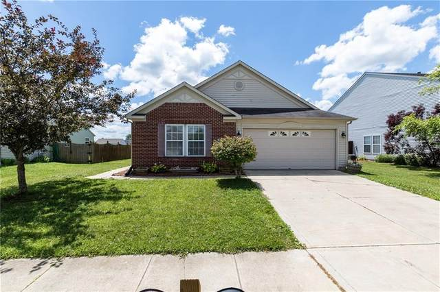 9889 Big Bend Drive, Indianapolis, IN 46234 (MLS #21724642) :: Anthony Robinson & AMR Real Estate Group LLC