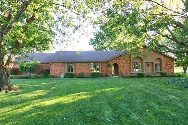 1060 Monteray Road, Greenwood, IN 46143 (MLS #21724766) :: Anthony Robinson & AMR Real Estate Group LLC