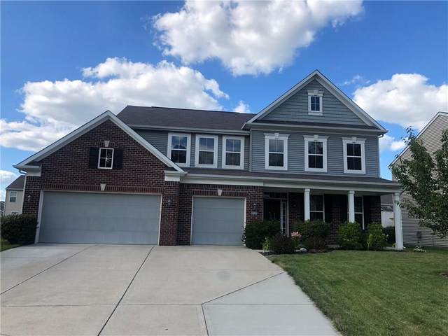 1166 Old Vines Court, Greenwood, IN 46143 (MLS #21724771) :: Anthony Robinson & AMR Real Estate Group LLC