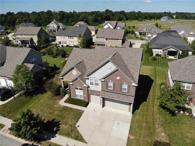 9822 Stable Stone Terrace, Fishers, IN 46040 (MLS #21724775) :: AR/haus Group Realty