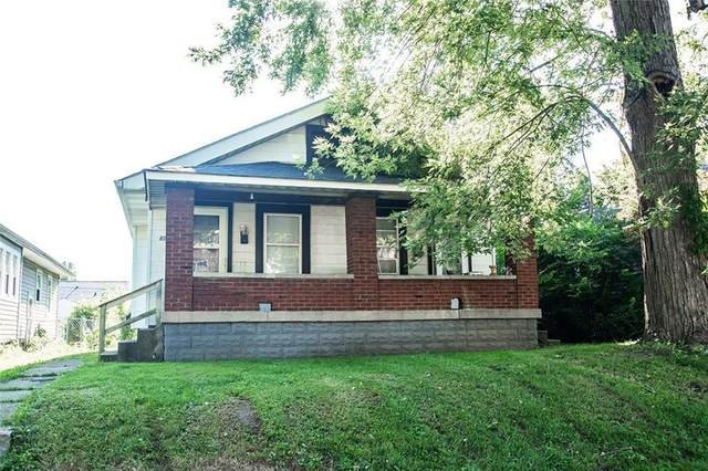 819 N Bradley Avenue, Indianapolis, IN 46201 (MLS #21725085) :: Anthony Robinson & AMR Real Estate Group LLC