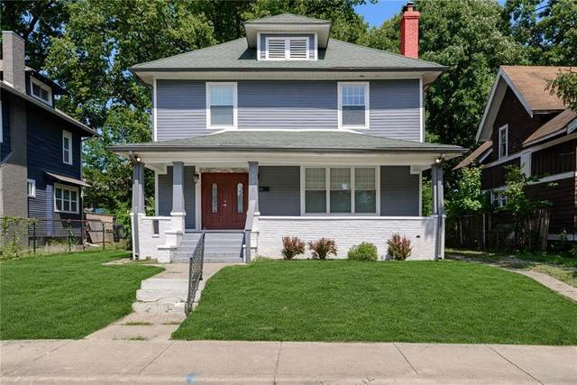 3223 Broadway Street, Indianapolis, IN 46205 (MLS #21725182) :: David Brenton's Team