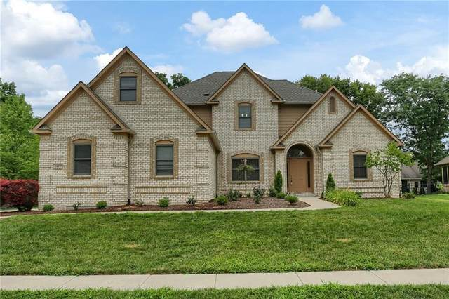 5414 Redberry Court, Indianapolis, IN 46254 (MLS #21725369) :: Mike Price Realty Team - RE/MAX Centerstone