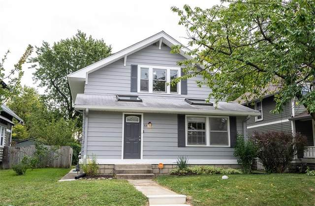 33 N Arlington Avenue, Indianapolis, IN 46219 (MLS #21725464) :: Mike Price Realty Team - RE/MAX Centerstone