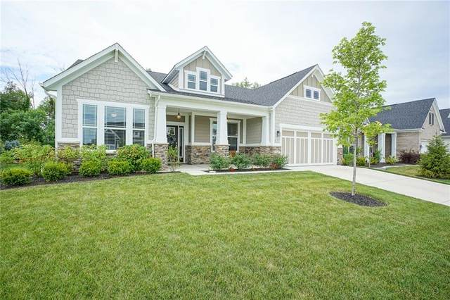 5437 Treeview Court, Noblesville, IN 46062 (MLS #21725507) :: Mike Price Realty Team - RE/MAX Centerstone