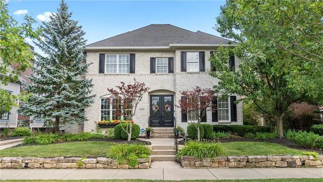 6715 W Stonegate Drive, Zionsville, IN 46077 (MLS #21725612) :: Anthony Robinson & AMR Real Estate Group LLC
