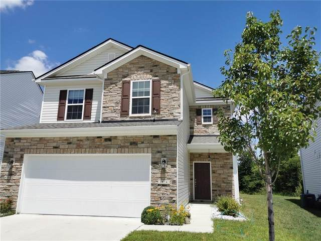 1874 Lakecrest Drive, Columbus, IN 47201 (MLS #21725655) :: Anthony Robinson & AMR Real Estate Group LLC