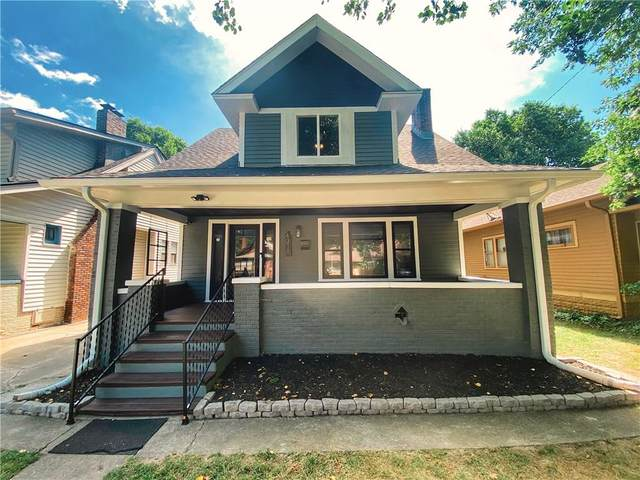 4311 Carrollton Avenue, Indianapolis, IN 46205 (MLS #21725704) :: Mike Price Realty Team - RE/MAX Centerstone