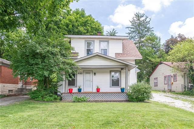 6015 Compton Street, Indianapolis, IN 46220 (MLS #21725844) :: The Evelo Team