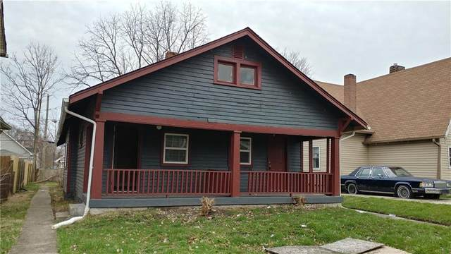 1416 Kealing Avenue, Indianapolis, IN 46201 (MLS #21726043) :: Ferris Property Group