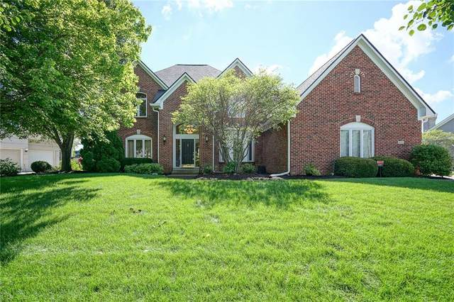 8351 Misty Drive, Indianapolis, IN 46236 (MLS #21726111) :: David Brenton's Team