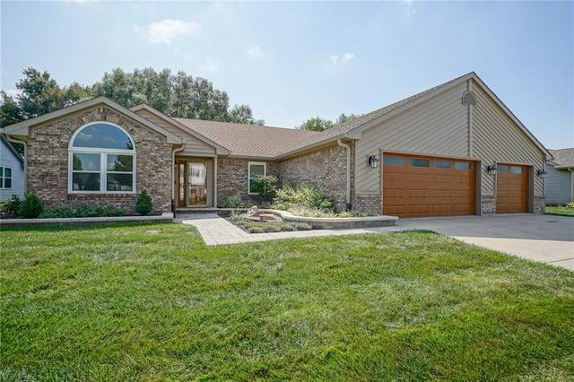 401 E Quail Wood Lane, Westfield, IN 46074 (MLS #21726113) :: David Brenton's Team