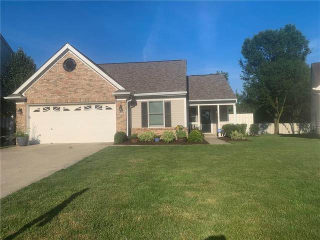 10779 Park Vista Court, Fishers, IN 46037 (MLS #21726129) :: Mike Price Realty Team - RE/MAX Centerstone