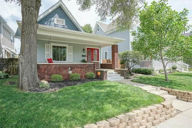 2219 N Pennsylvania Street, Indianapolis, IN 46205 (MLS #21726262) :: The ORR Home Selling Team