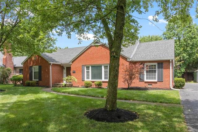 52 Kessler Blvd E Drive, Indianapolis, IN 46220 (MLS #21726437) :: Mike Price Realty Team - RE/MAX Centerstone