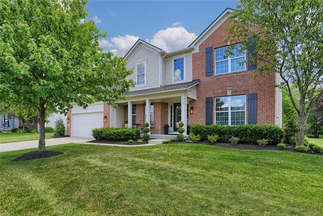 14217 Autumn Woods Drive, Carmel, IN 46074 (MLS #21726573) :: Mike Price Realty Team - RE/MAX Centerstone