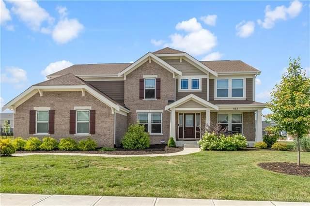 665 Ridge Gate Drive, Brownsburg, IN 46112 (MLS #21727594) :: Heard Real Estate Team | eXp Realty, LLC