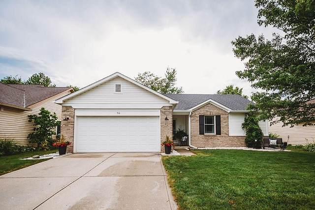 910 N Mill Run, Greenfield, IN 46140 (MLS #21727600) :: Mike Price Realty Team - RE/MAX Centerstone