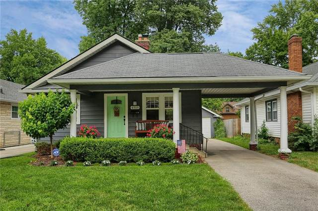 4919 N Kenwood Avenue, Indianapolis, IN 46208 (MLS #21727680) :: Mike Price Realty Team - RE/MAX Centerstone