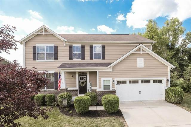 4683 Oakton Way, Greenwood, IN 46143 (MLS #21727708) :: Mike Price Realty Team - RE/MAX Centerstone