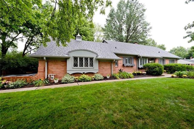 5851 White Oak Court, Indianapolis, IN 46220 (MLS #21727778) :: Anthony Robinson & AMR Real Estate Group LLC