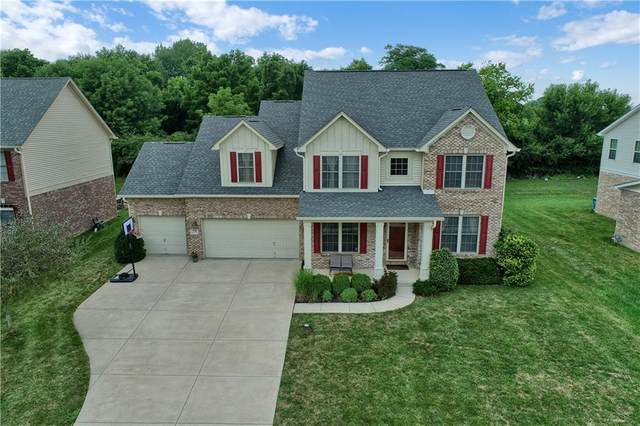 7254 Stones River Drive, Indianapolis, IN 46259 (MLS #21727785) :: Mike Price Realty Team - RE/MAX Centerstone