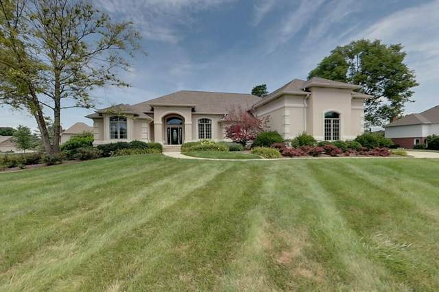 4396 Eagle Trace, New Palestine, IN 46163 (MLS #21727905) :: The Indy Property Source