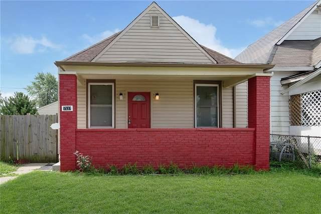 1537 Lawton Avenue, Indianapolis, IN 46203 (MLS #21727999) :: Richwine Elite Group