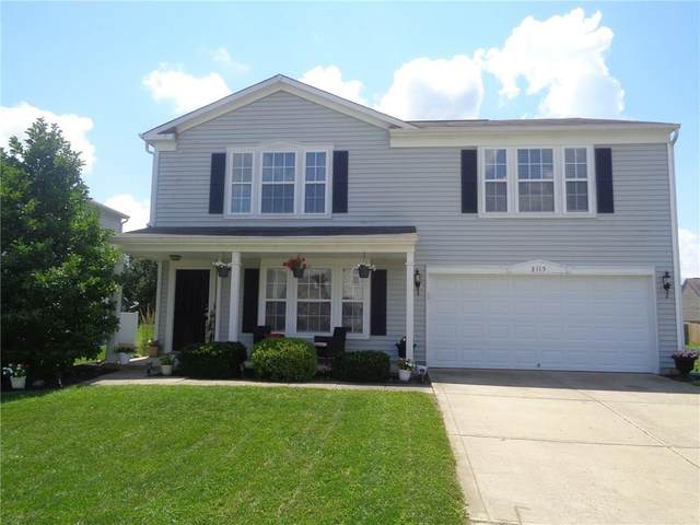 3115 W Crosscreek Drive, Monrovia, IN 46157 (MLS #21728135) :: Mike Price Realty Team - RE/MAX Centerstone