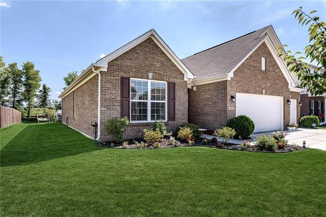 4635 W Lawrence Way, New Palestine, IN 46163 (MLS #21728376) :: The Indy Property Source