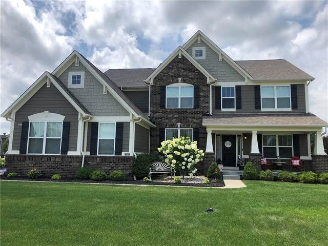 7380 English Way, Zionsville, IN 46077 (MLS #21728452) :: Heard Real Estate Team | eXp Realty, LLC