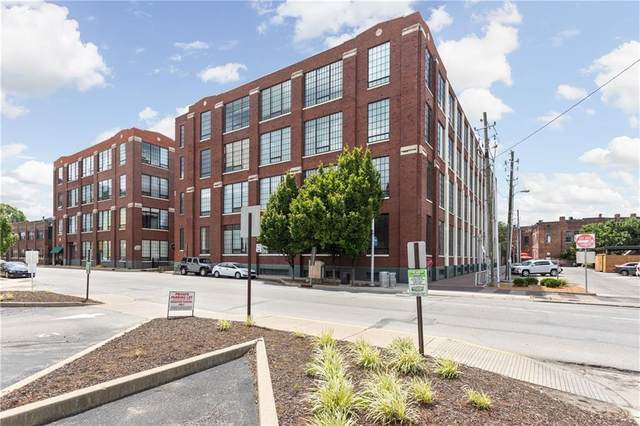 624 E Walnut Street #43, Indianapolis, IN 46204 (MLS #21728489) :: Corbett & Company