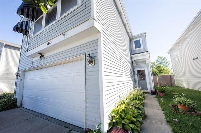 4443 Courtfield Drive, Indianapolis, IN 46254 (MLS #21728494) :: Dean Wagner Realtors