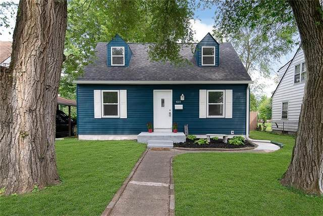 4217 Cornelius Avenue, Indianapolis, IN 46208 (MLS #21728553) :: David Brenton's Team