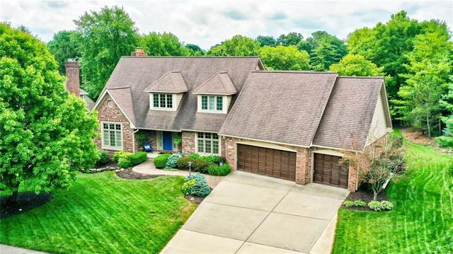 4909 Wood Creek Drive, Carmel, IN 46033 (MLS #21728740) :: Mike Price Realty Team - RE/MAX Centerstone