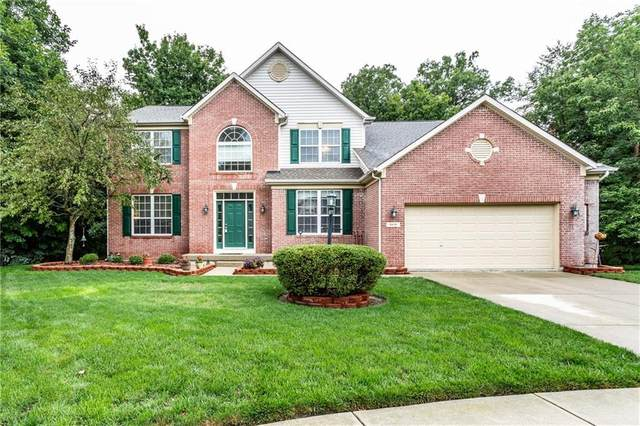 8850 Lambert Court, Fishers, IN 46038 (MLS #21728864) :: David Brenton's Team