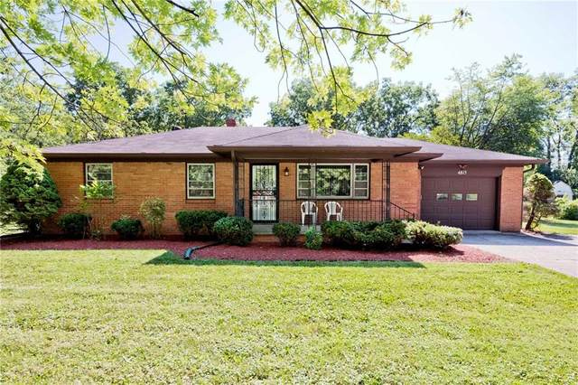 4815 Oaknoll Drive, Indianapolis, IN 46221 (MLS #21728872) :: Dean Wagner Realtors