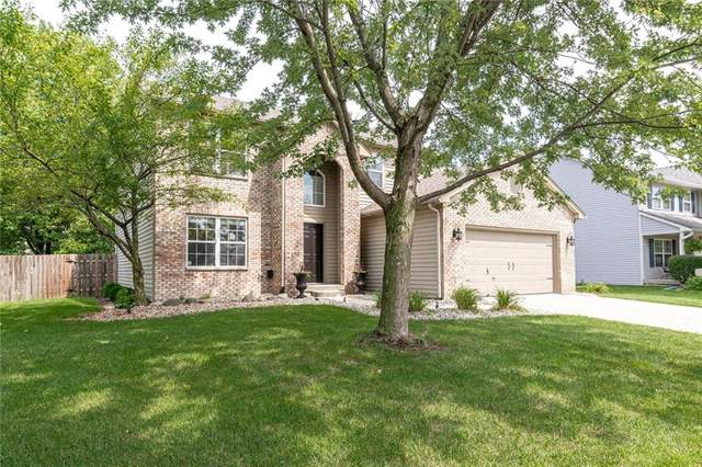 11444 Falling Water Way, Fishers, IN 46037 (MLS #21728893) :: Anthony Robinson & AMR Real Estate Group LLC