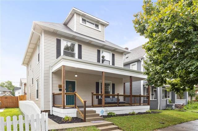315 N Arsenal Avenue, Indianapolis, IN 46201 (MLS #21728938) :: David Brenton's Team