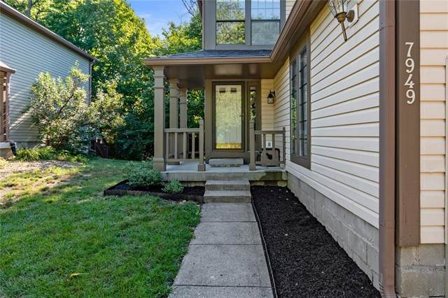 7949 Glen View Drive, Indianapolis, IN 46236 (MLS #21728997) :: The ORR Home Selling Team