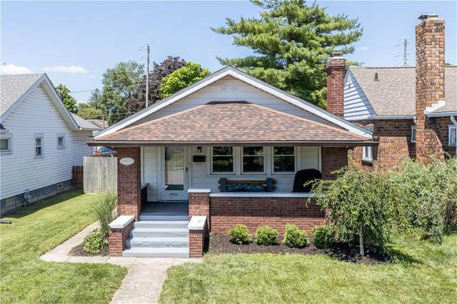 5264 E 10TH Street, Indianapolis, IN 46219 (MLS #21729003) :: Anthony Robinson & AMR Real Estate Group LLC