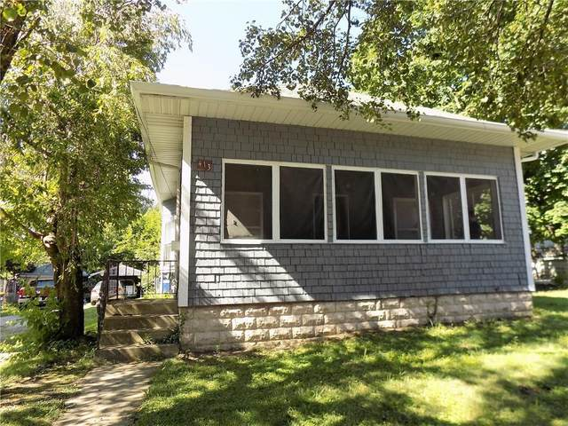 413 E Walnut Street, Greencastle, IN 46135 (MLS #21729034) :: Mike Price Realty Team - RE/MAX Centerstone